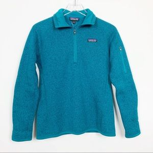 Patagonia | Better Sweater 1/4 Zip Blue